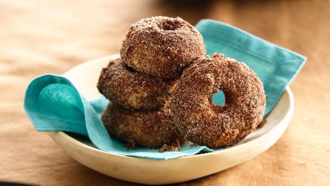 Snickerdoodle Mini Doughnuts