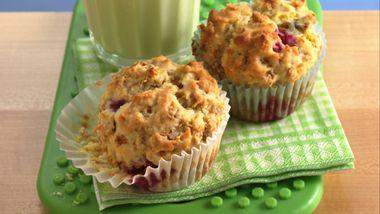 Sunny Lemon-Raspberry Muffins