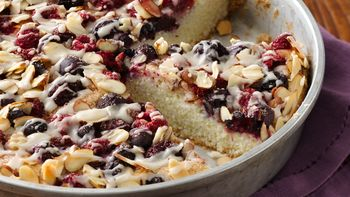 Gluten-Free Almond Berry Coffee Cake