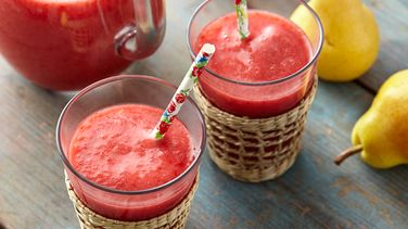 Raspberry, Strawberry and Pear Juice