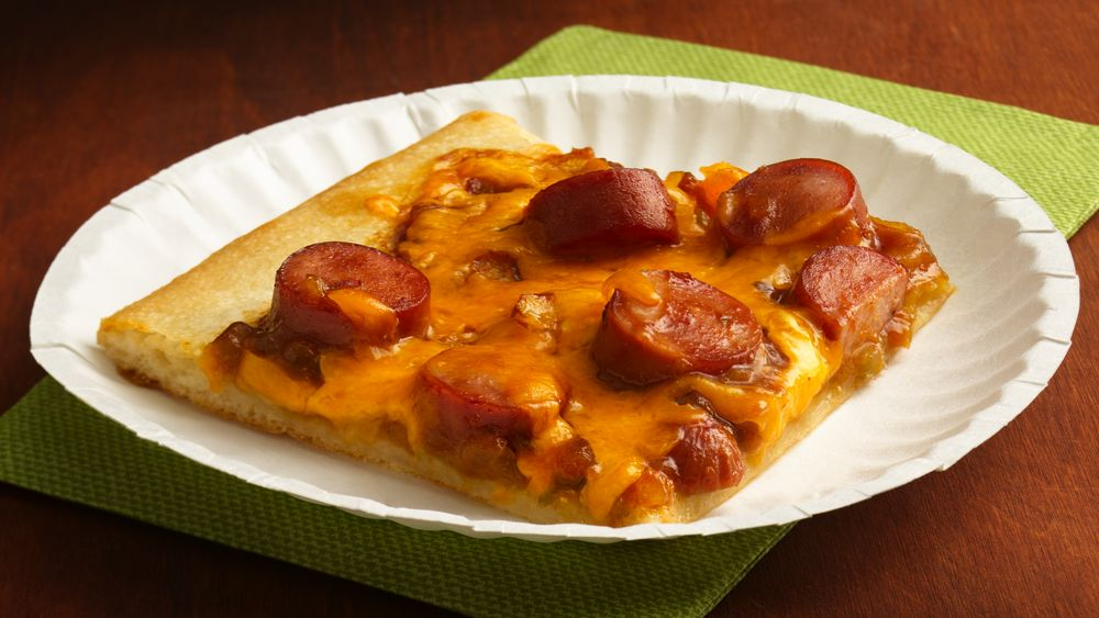 BBQ Cheese Dog Pizza