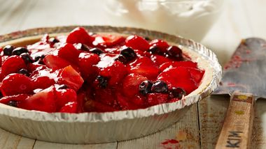 No-Bake Triple Berry Pie