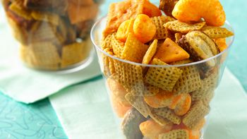 Gold Nuggets Chex Mix
