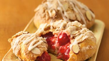Cherry-Almond Streusel Danish