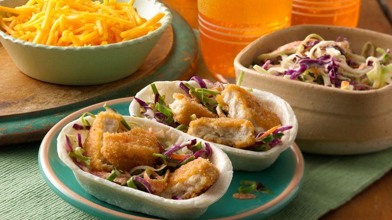 Mini Crispy Chicken Taco Boats™