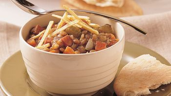 Slow-Cooker Ham and Lentil Stew