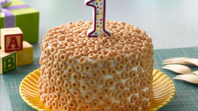 Cheerios® First Birthday Cake