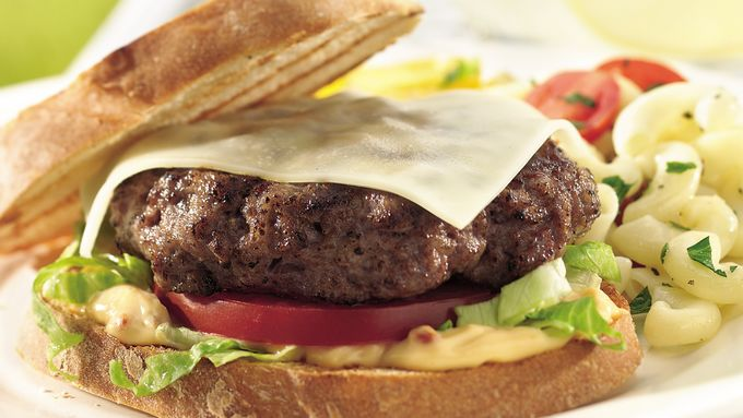 Grilled Italian Sausage Burgers