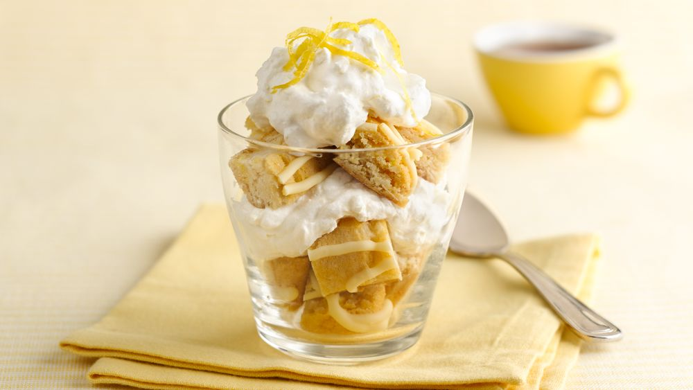 Luscious Lemon Bar Parfait