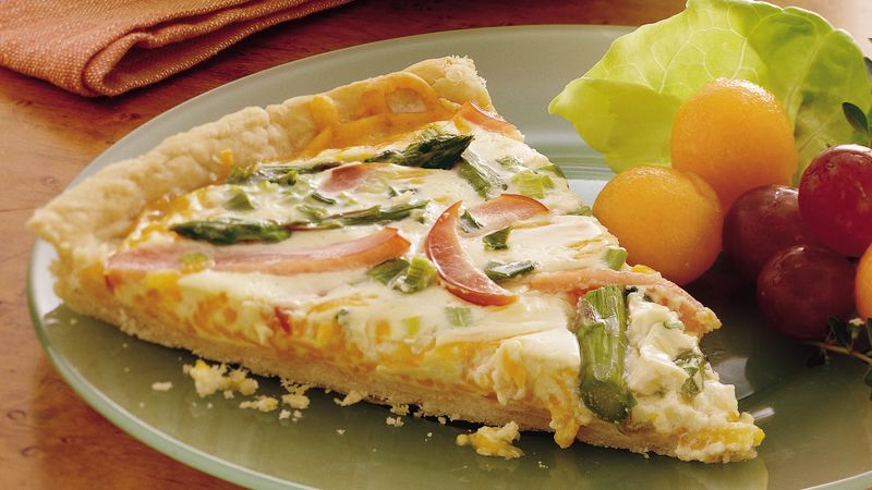 Brunch Quiche Pizza
