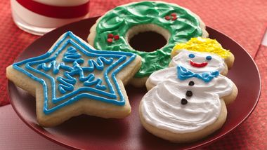 Easy Holiday Cutout Cookies
