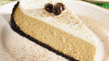 Creamy Cappuccino Cheesecake