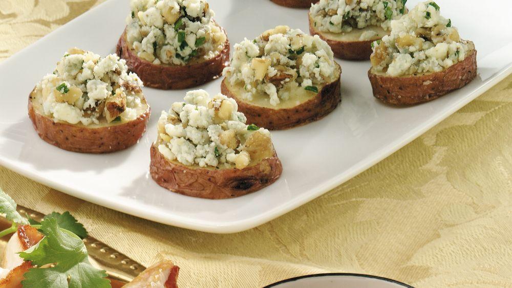 Nutty Gorgonzola-Roasted Potato Slices