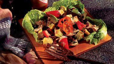 Caribbean Chicken and Black Bean Salad