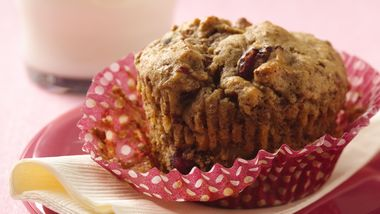 Flax and Fruit Muffins