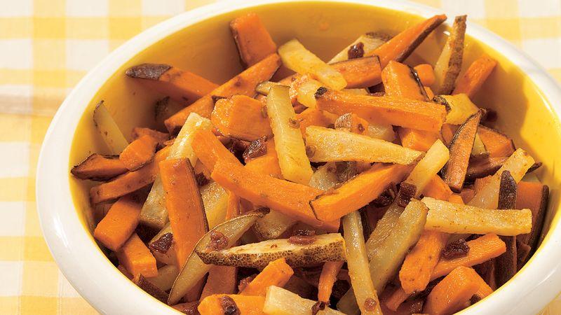 Grilled Potato Strips