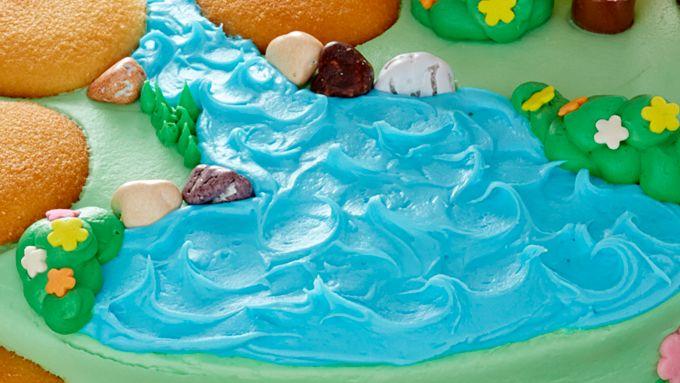 Fairy Garden Cake