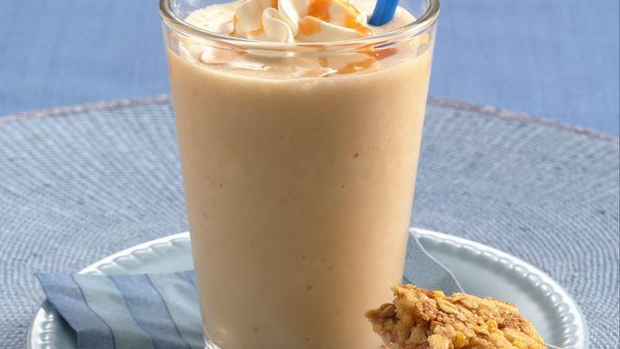 Crème Caramel Chai Smoothies