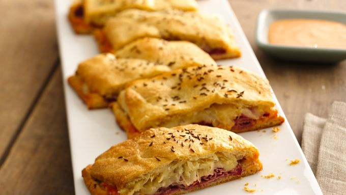 Big & Tangy Reuben Pockets