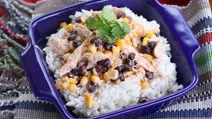 Slow-Cooker Fiesta Chicken