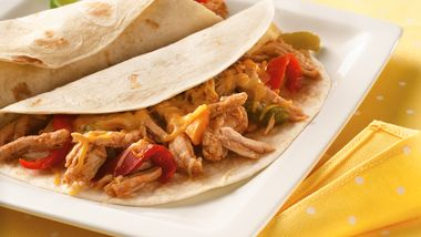 Slow-Cooker Pulled Pork Fajitas