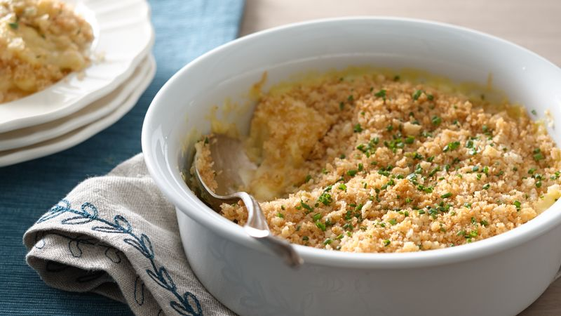 Herbed Cheese Au Gratin Potatoes