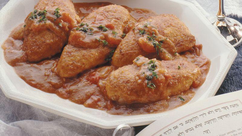 Sautéed Chicken Paprika