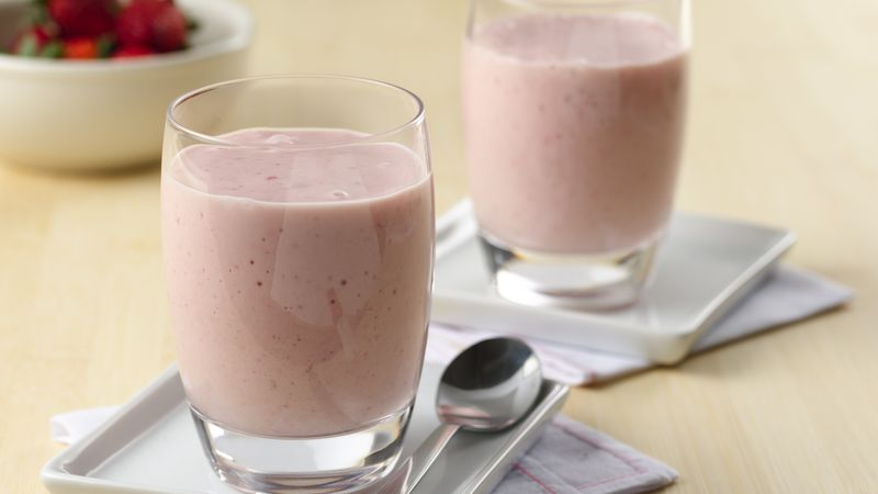 Easy Strawberry-Banana Smoothies