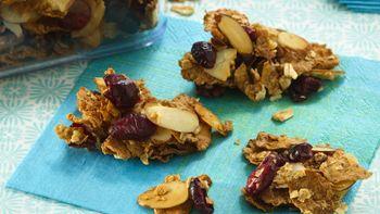 Crunchy Cranberry-Almond Snack