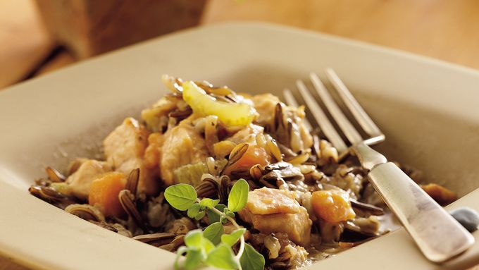 Turkey-Wild Rice Casserole
