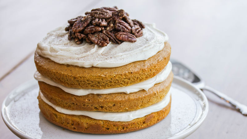 Pumpkin Ale Layer Cake