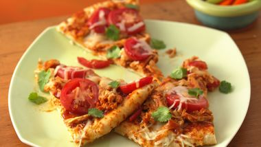 Barbecued Chicken Pizza