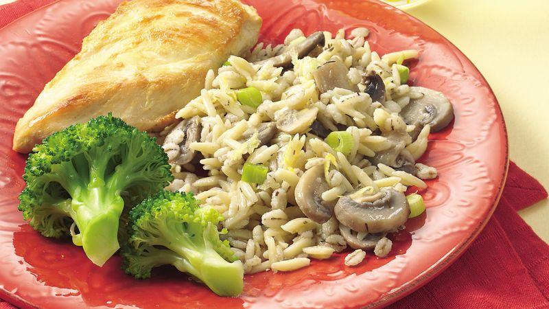 Orzo-Barley Pilaf