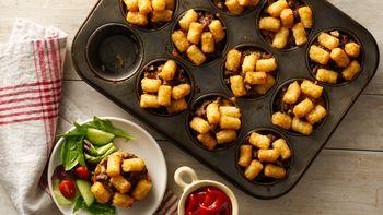 Muffin-Tin Tater Tot™ Hot Dish Cups