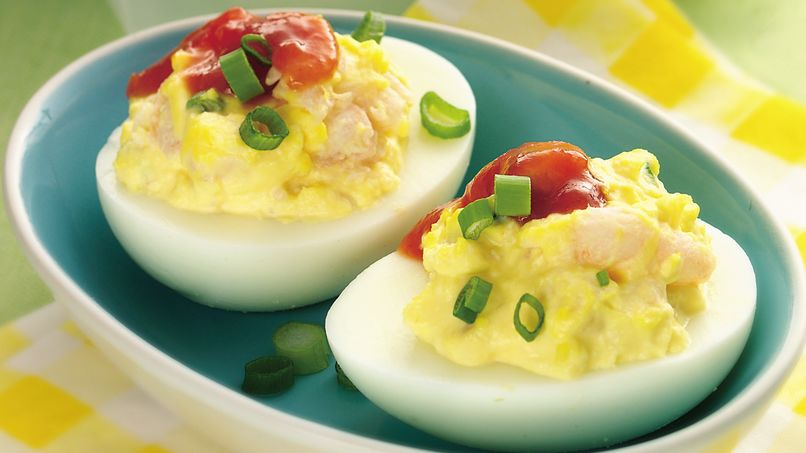 Shrimp Deviled Eggs