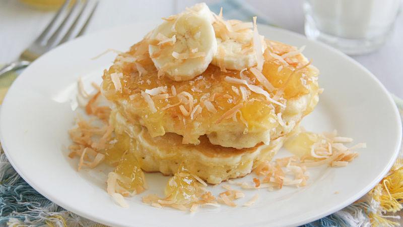 Tropical Pancakes