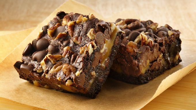 Gluten-Free Turtle Brownies
