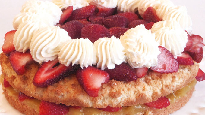 Lemon Layer Strawberry Shortcake