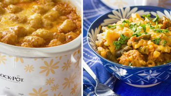Cheesy Slow-Cooker Tater Tot Casserole