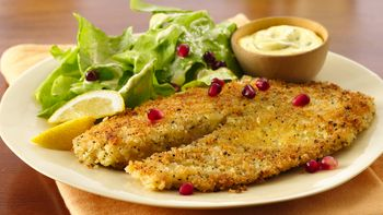 Seared Lemon Pepper Tilapia