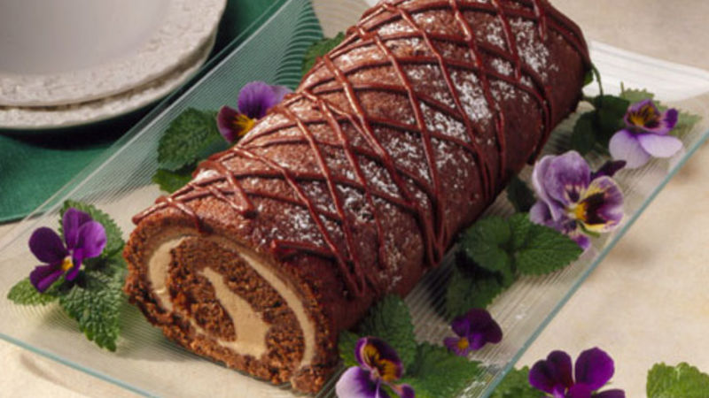 Apple Butter Cake Roll