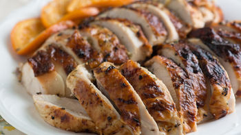 Rosemary Orange Roasted Turkey Breast