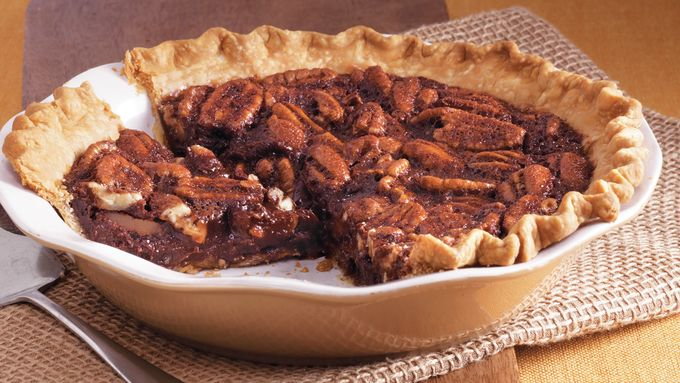 Bittersweet Chocolate Pecan Pie recipe - from Tablespoon!