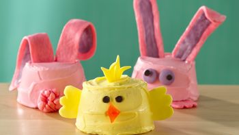 Bunny and Chick Cupcakes