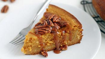 Gooey Pumpkin Butter Cake with Pecans