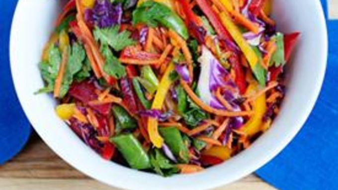 Rainbow Slaw Salad recipe - from Tablespoon!