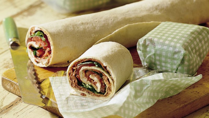 Beef, Bacon and Blues Wrap