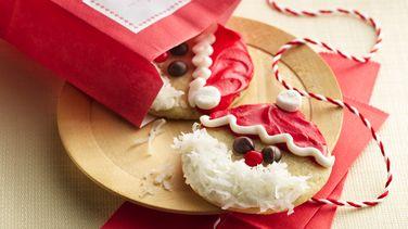 Easy Santa Cookies