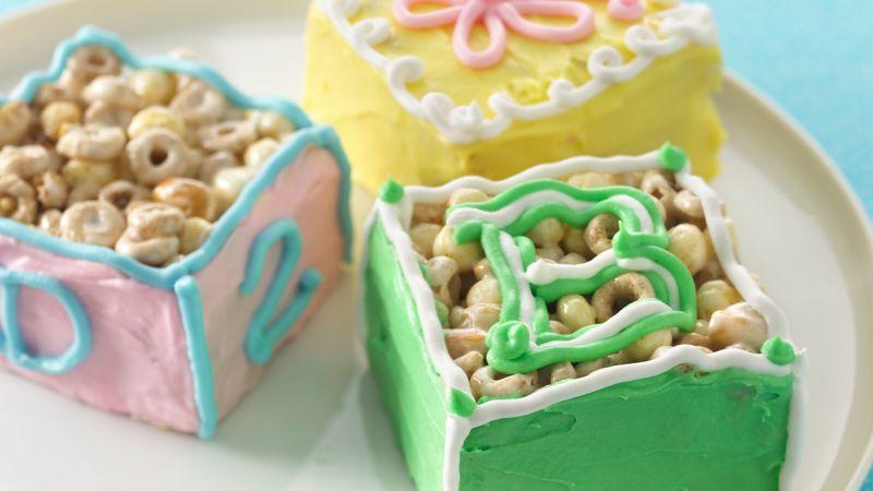Baby Block Cereal Bars