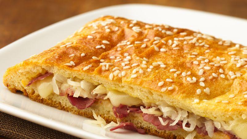 Easy Reuben Sandwich Slices